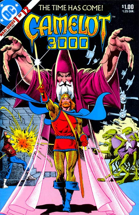 Camelot 3000 1 cover