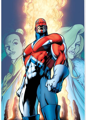 Captain Britain - second costume