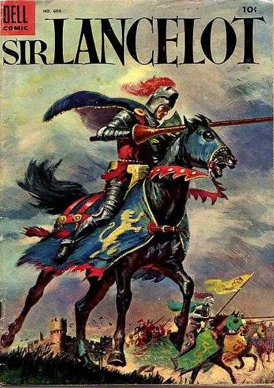 Sir Lancelot Dell Four Color cover
