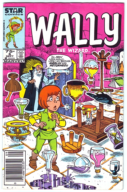 Wally the Wizard 6 cover