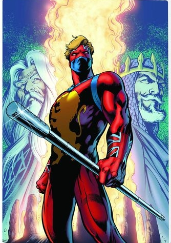 Captain Britain - original costume