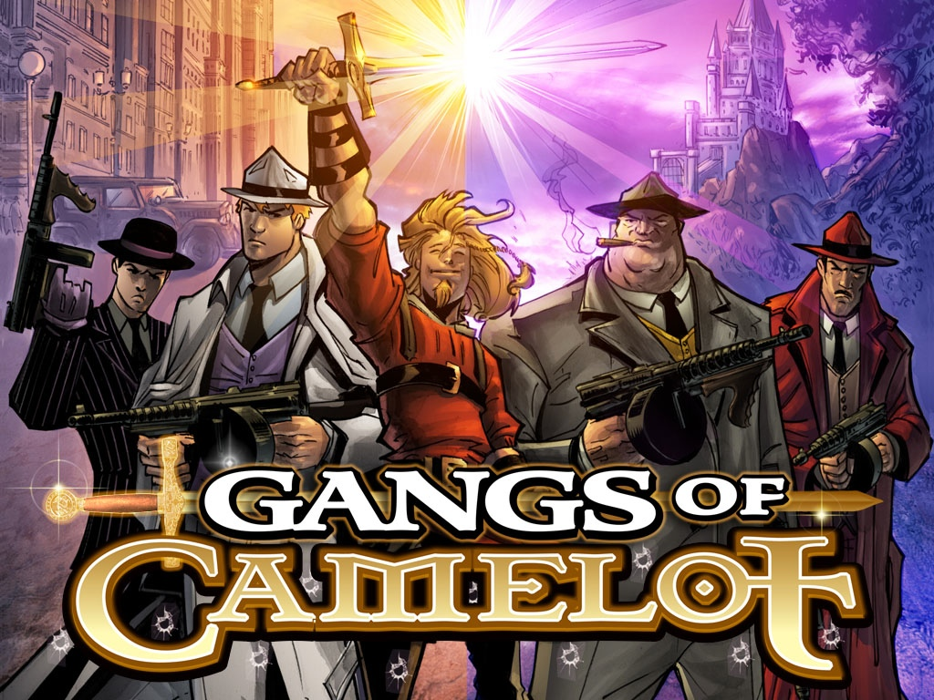 Gangs of Camelot promo art