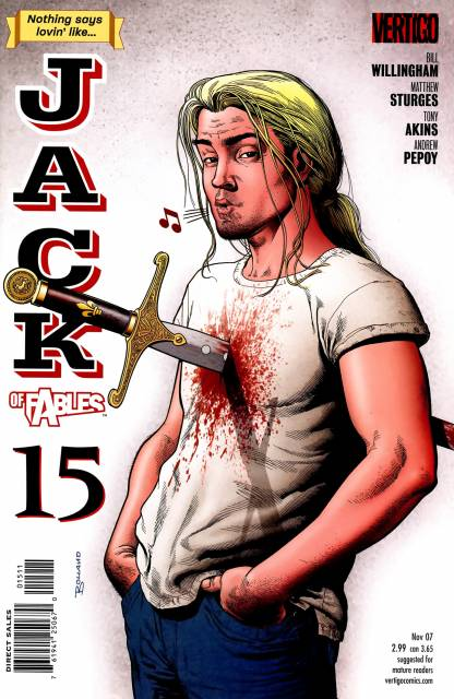 Jack of Fables 15 cover