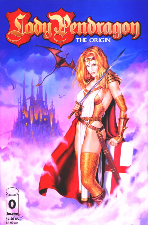 Lady Pendragon The Origin cover
