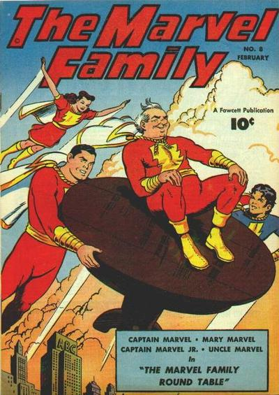 Marvel Family with Round Table
