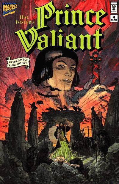 Prince Valiant Marvel cover