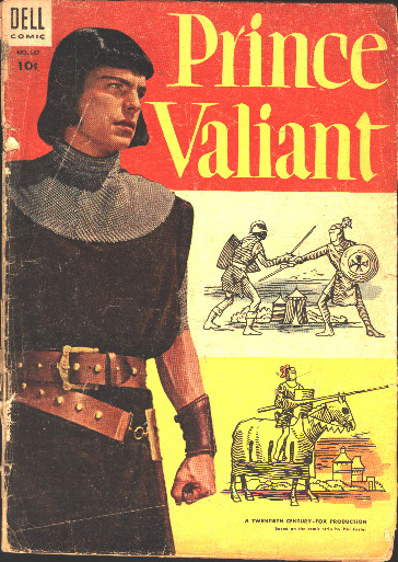 Prince Valiant Dell movie adaptation cover