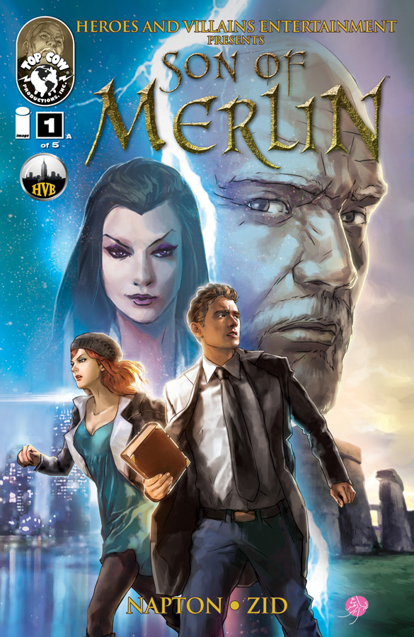 Son of Merlin issue 1 cover A