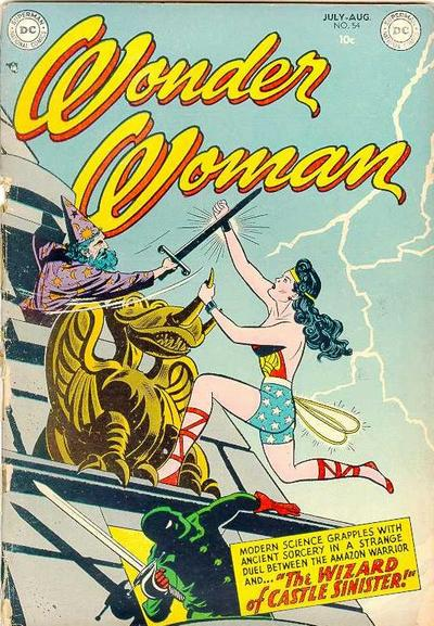 Wonder Woman 54 cover